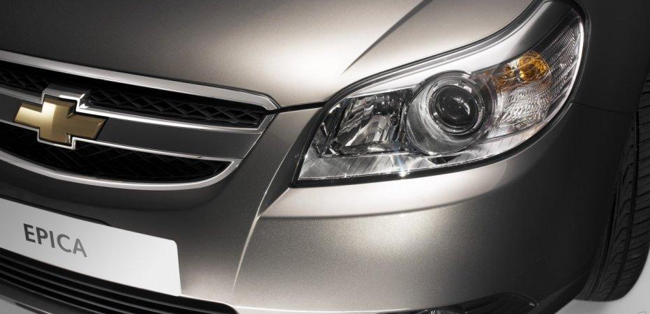 Шевроле Эпика (Chevrolet Epica) обновилась