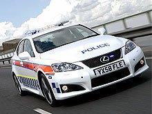 """Британские полицейские пересели на """"заряженные"""" Lexus IS-F"""