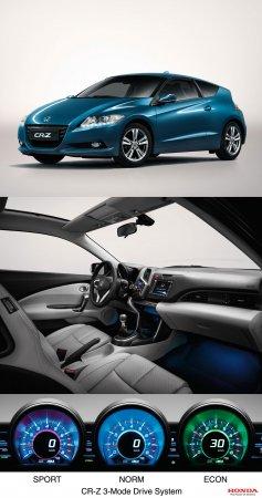 Хонда (Honda) готовит новый авто - CR-Z