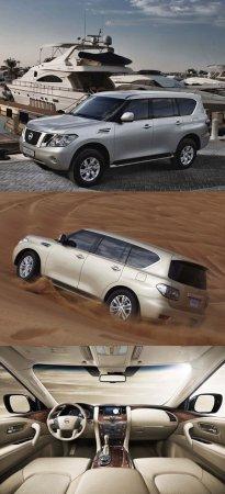 Ниссан (Nissan) показал новый Патрол (Patrol)