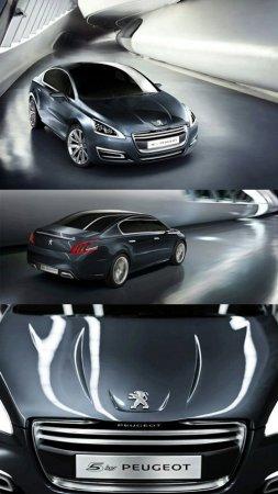 Пежо (Peugeot) показала новый седан - 5 by Peugeot