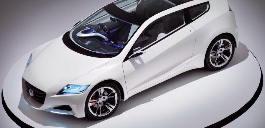 Хонда (Honda) начала продажи нового гибрида CR-Z
