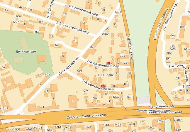 Сегодня два переулка в центре Москвы стали односторонними