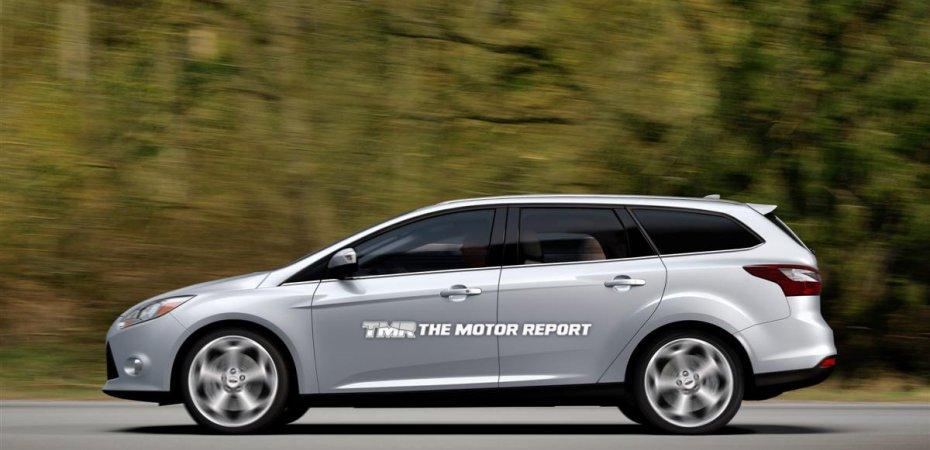 Форд (Ford) покажет Фокус 3 (Focus 3) универсал