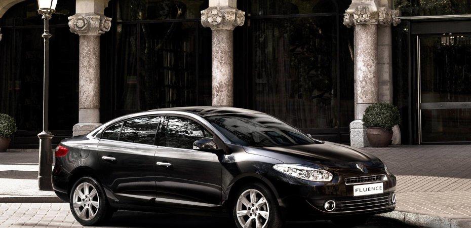 Начинаются продажи нового Рено Флюенс (Renault Fluence)