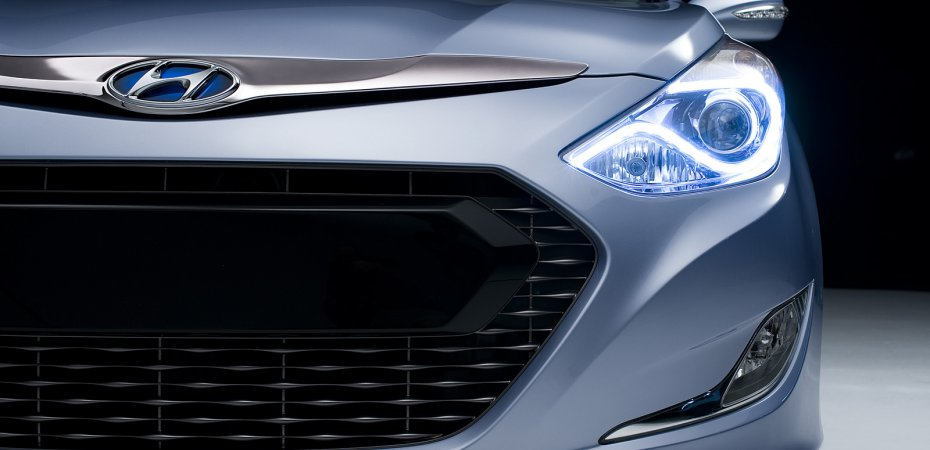 Хенде (Hyundai) опубликовала фотографии новой Сонаты (НФ)