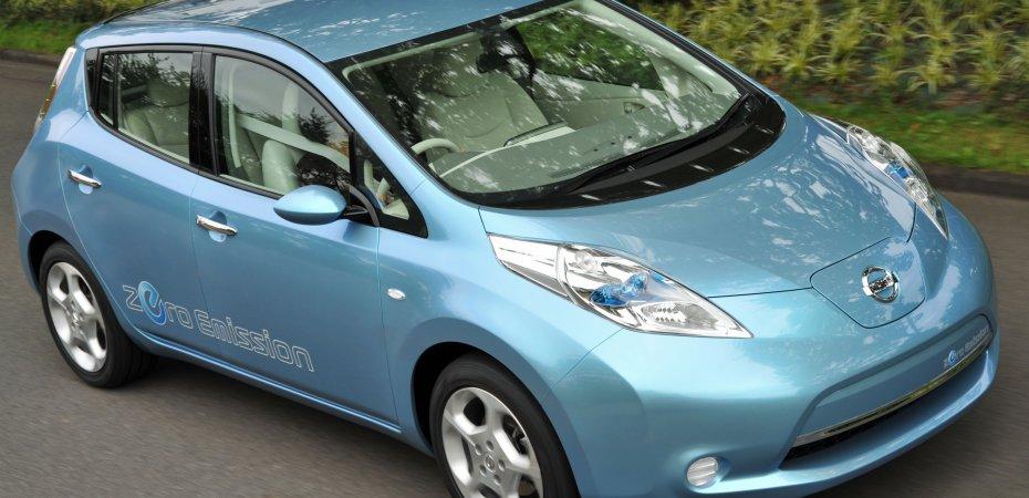 Электрокар Ниссан Лиф (Nissan Leaf) за $32 400