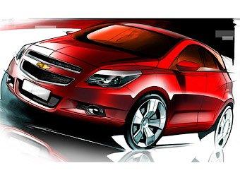 Chevrolet показала первые изображения нового хэтчбека
