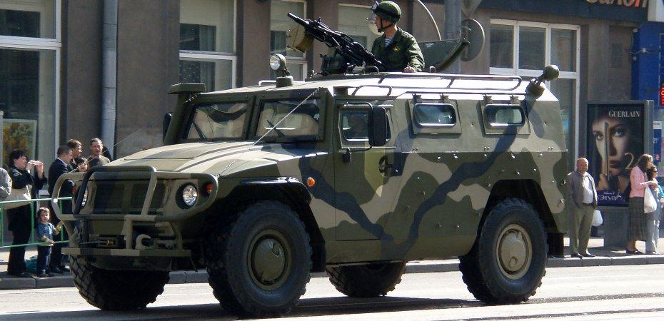 Полиция Бразилии хочет ГАЗ Тигр