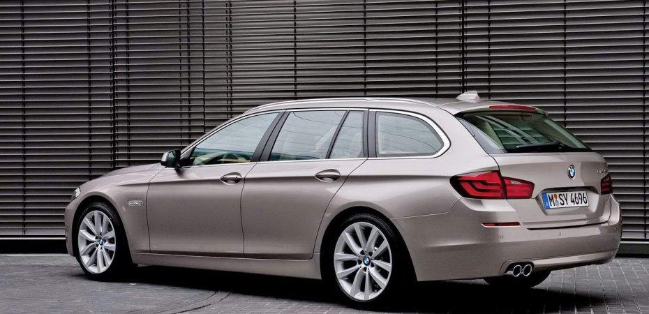 БМВ (BMW) озвучила цены на универсал 5 серии