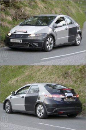 Первые фото нового Хонда Цивик (Honda Civic) 2012