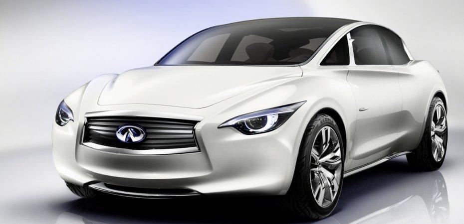 Концепт спортивного автомобиля INFINITI назван EMERG-E