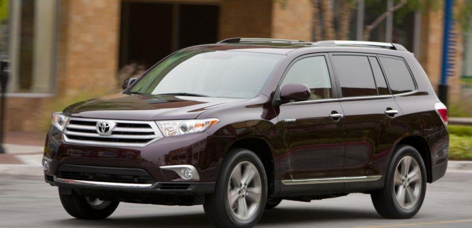 Toyota Highlander и Land Cruiser Prado стали обладателями премии
