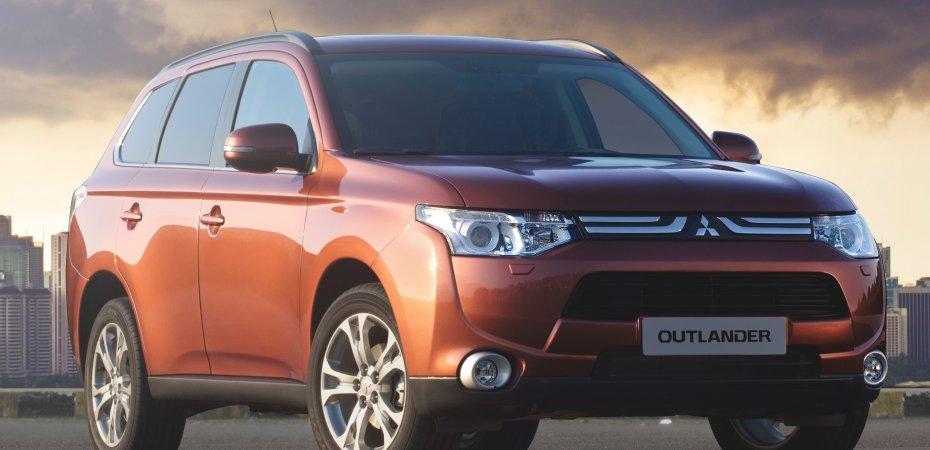 Мировая премьера Mitsubishi Outlander в Женеве