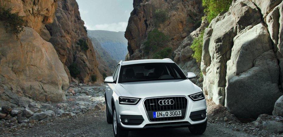 Audi Q3 – обладатель премии «OFF ROAD AWARD 2012»
