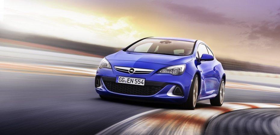 Новый Opel Astra OPC на мировой премьере в Женеве