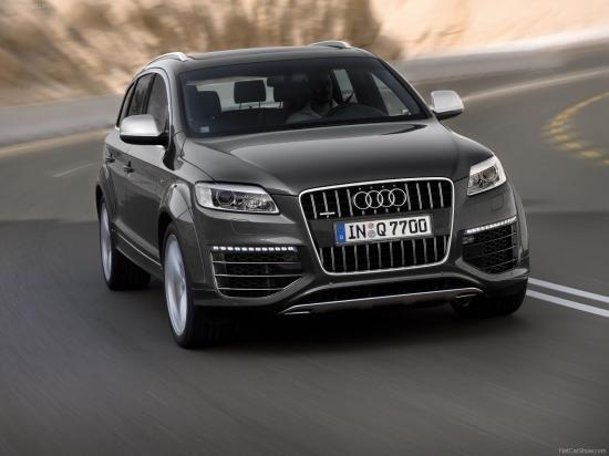Audi начала продажи 500-сильного внедорожника Q7