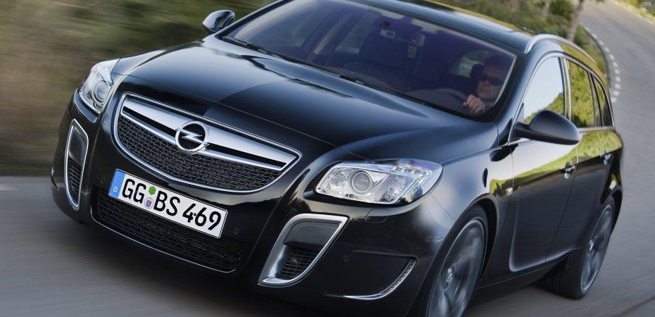 Opel представила универсал Insignia OPC с мотором 325 л.с.