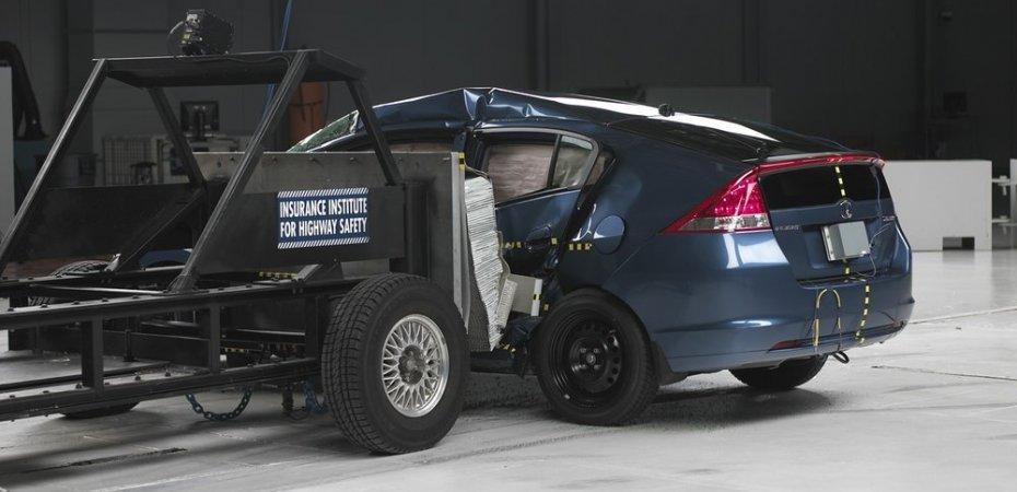Honda Insight получает наивысшие оценки безопасности Euro NCAP