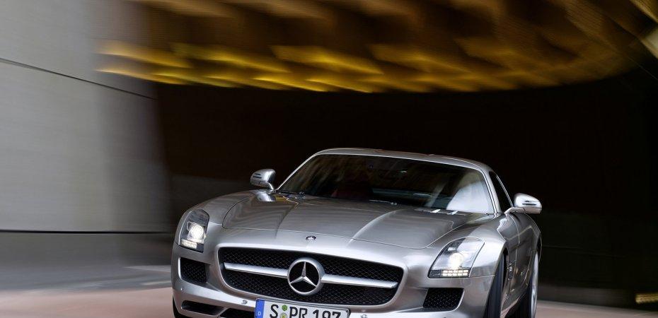 Воплощение мечты - Mercedes-Benz SLS AMG.