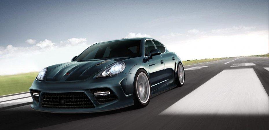 Необычная Porsche Panamera от Mansory