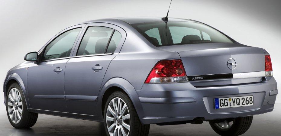 Тест-драйв Opel Astra Sedan