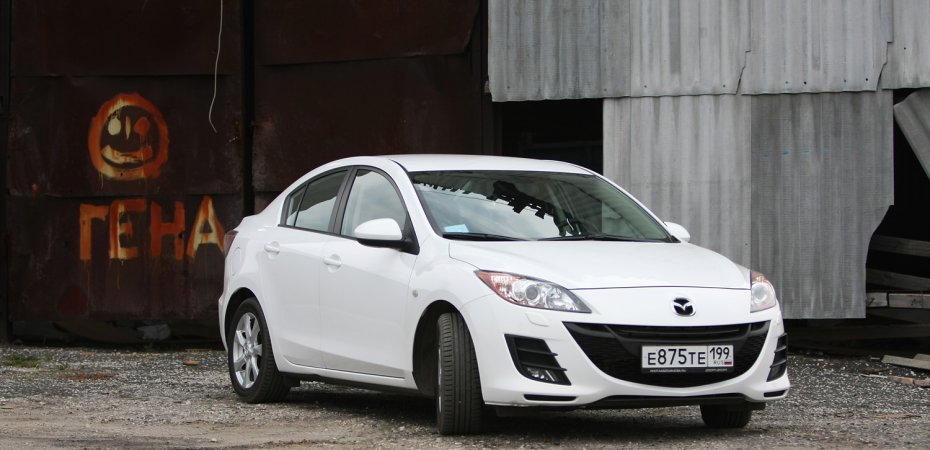 Тест-драйв Мазда 3 (Mazda 3)
