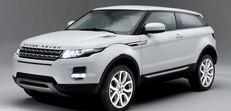 Land Rover выпустил модель Range Rover Evoque