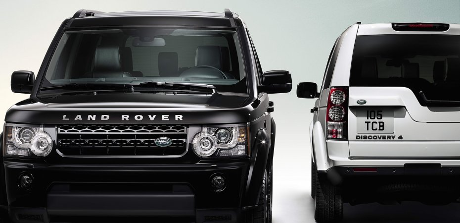 Land Rover выпустил Discovery 4: Black and White Limited Editions