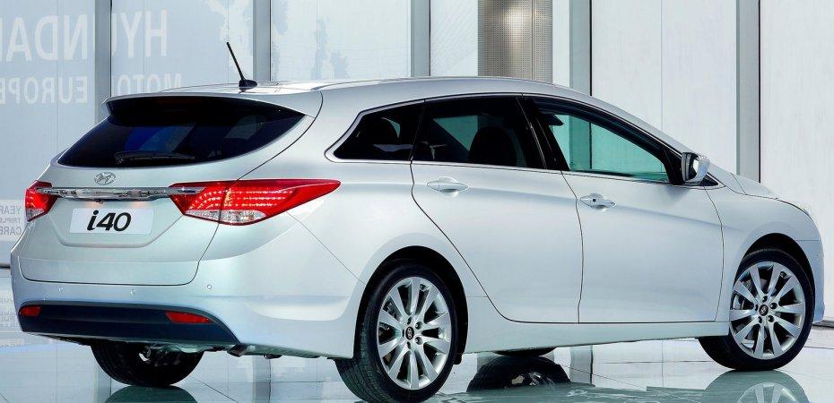 Компания Хундай (Hyundai) опубликовала фотографии универсала i40
