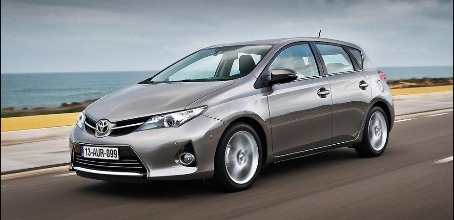 Протяжное эхо Toyota Auris