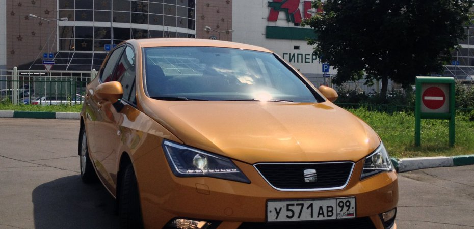 2000 км на «Бронзовой пуле» SEAT Ibiza