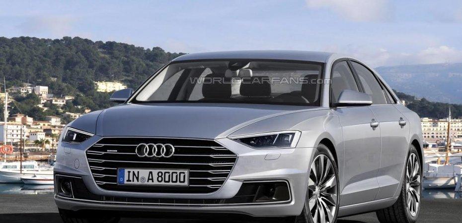 Первый Audi в новом стиле