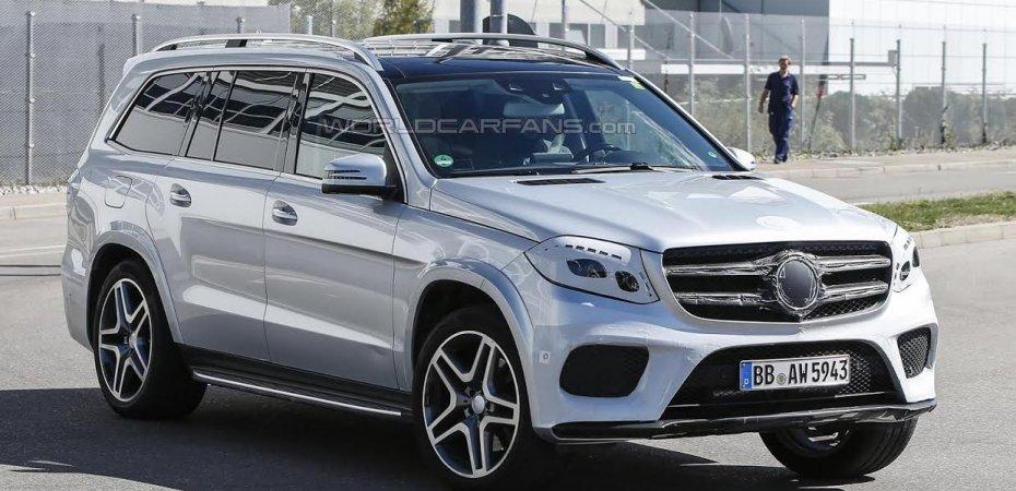 Новый Mercedes GL переименуют в GLS