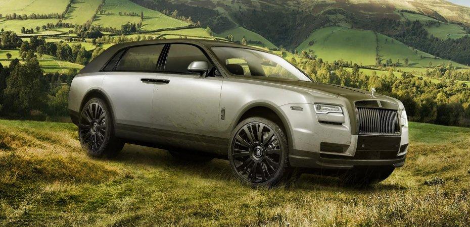 Rolls-Royce Cullinan получит «обратные» двери