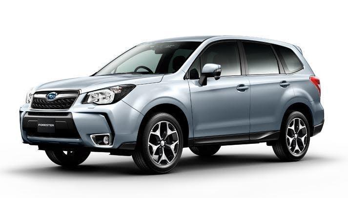 Готов рестайлинг Subaru Forester