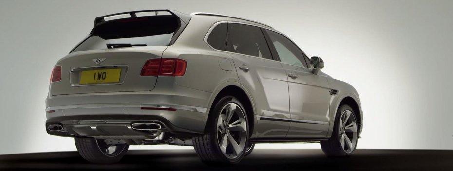 Bentley Bentayga: карбон и 4 сек до 100 км/ч (видео)