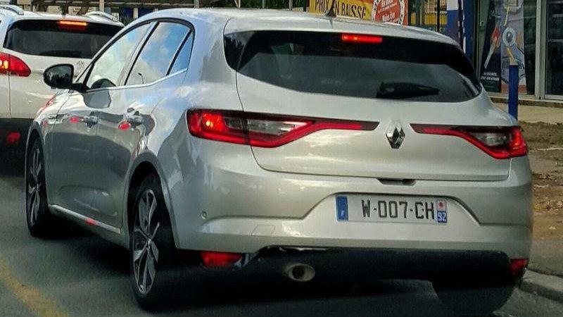 Новый Renault Megane был замечен на дороге