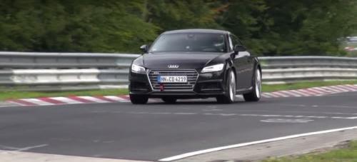 Audi TT RS 2017 на жестких тестах (видео)