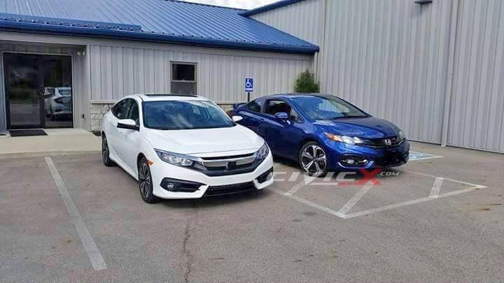 Honda Civic 2016 – новые подробности