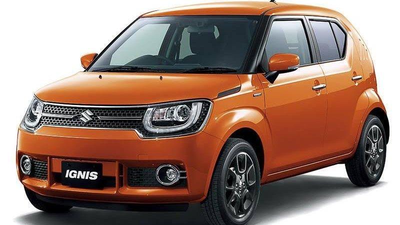Suzuki Ignis показали до Токио