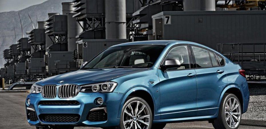 BMW X4 M40i получит 360 л.с.