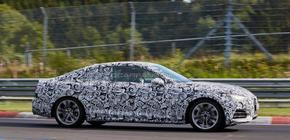 Новый Audi А5 почти готов
