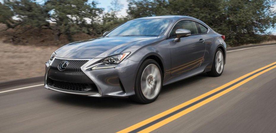 Lexus RC: новый мотор (видео)