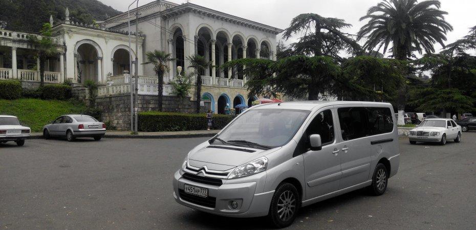 Citroen Jumpy Multispace: в Абхазию и обратно