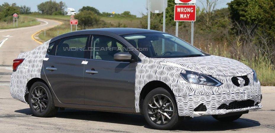 Nissan Sentra готовит фейслифт