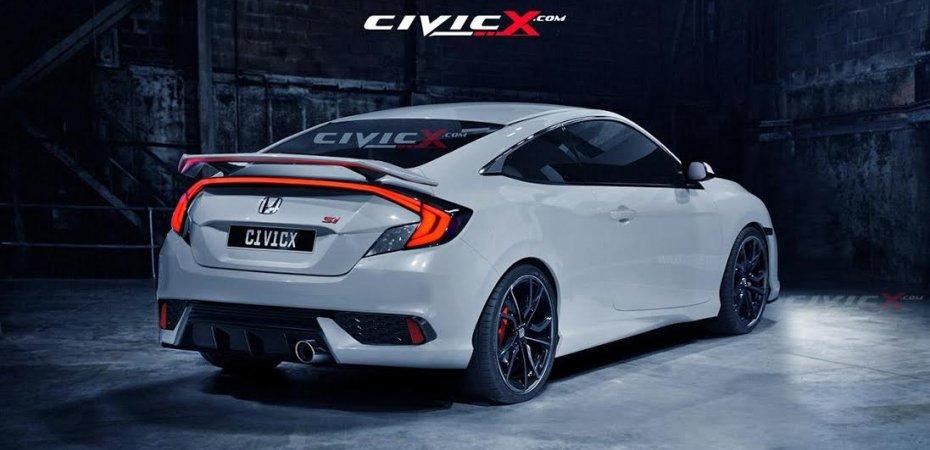 Honda Civic Coupe: примерный вид