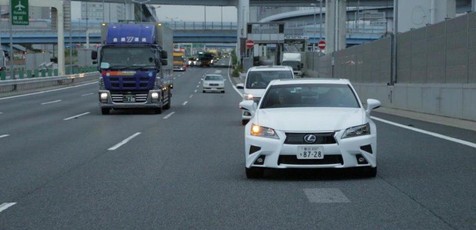 Lexus GS стал автономным