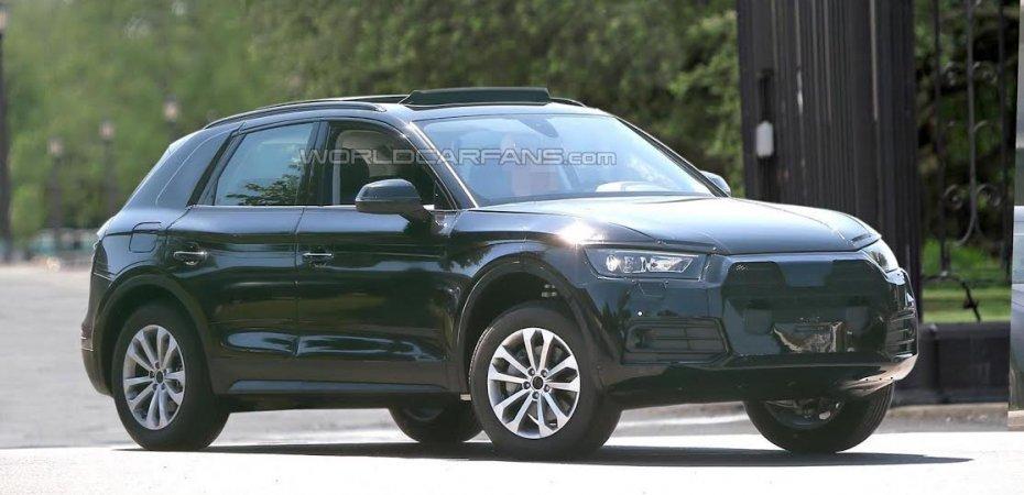 Новый Audi Q5 на подходе