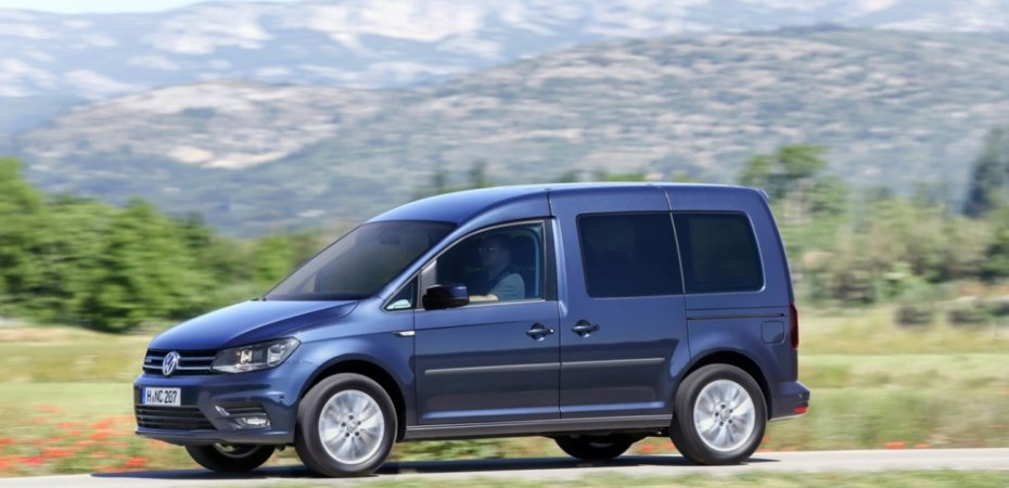 Volkswagen Caddy заправили газом
